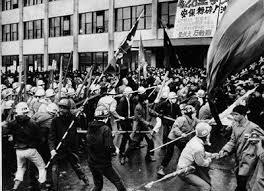 学生運動の画像